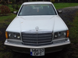 Mercedes w 126,model american 300 sd turbo diesel