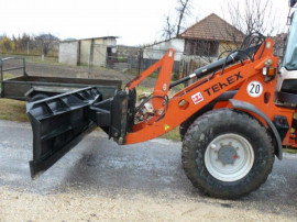 Lamă/plug zăpadă buldoexcavator, tractor, încărcător frontal