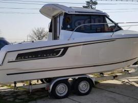 Barca Jeanneau Merry Fisher 695 cu Yamaha 175 CP si peridoc