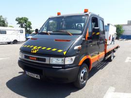 Autoplatforma Iveco cabina dubla 3.5 tone