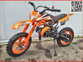 "Moto cross 50cc livrare gratis dirt bike 701a j10"" orange"