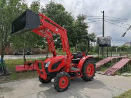 Tractor multifunctional nou Kioti 45CP+incarcator fata+cupa