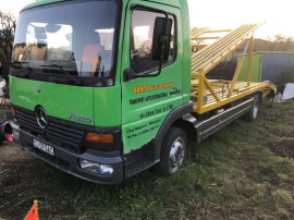 Camion transport auto Mercedes Atego 817
