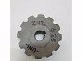 Pinion Sgorbati 64.111;L75-258;Z12;D=25;