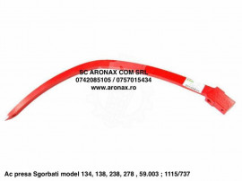 Ac presa Sgorbati model 134, 138, 238, 278 , 59.003 ; 1115/7