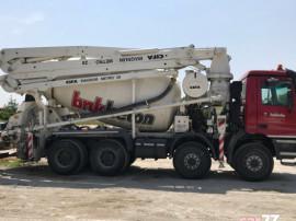 Pompa beton Mercedes Benz, cifa 28m, mixer 9mc