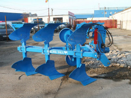 Plug reversibil hidraulic cu 4 brazde NOU