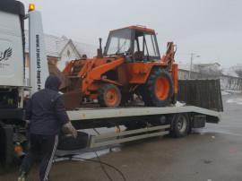Buldoexcavator case ih 580