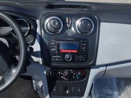 Plansa de bord Dacia Sandero 2014 cu airbag volan si pasager