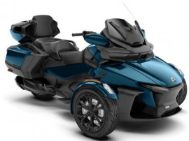 Can-Am Spyder RT, SE6, Limited, Petrol Blue Metallic (Dark)