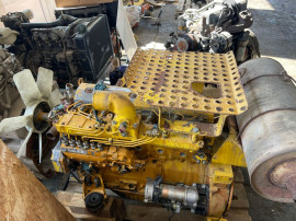 Motor pentru excavator , buldozer Komatsu 6D 95 L