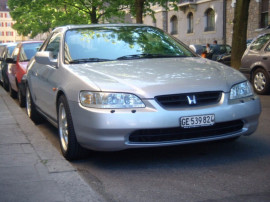 Honda Accord Coupe model SUA