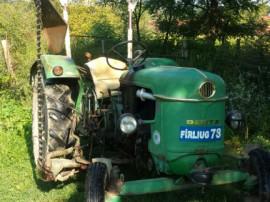 Tractor DEUTZ cu cositoare