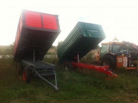 Remorci agricole basculabile 6 tone -26 tone