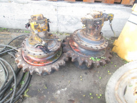 Reductor + hidromotor de finisor de asfalt Liba DF.110C
