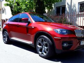 BMW X6, 3.5 DIESEL, 2998 cmc, BI TURBO 286 cp, culoare Rosu