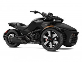 Can-Am Spyder F3-S SM6 Monolith Black Satin 2018