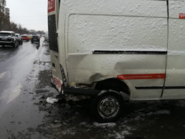 Ford Transit-An-2005 Avariat Spate