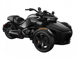 SPYDER Can-Am Spyder F3 SE6 Steel Black Metallic '19