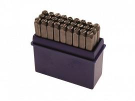 Set de poansoane cu litere 10mm, Produs nou cu garantie