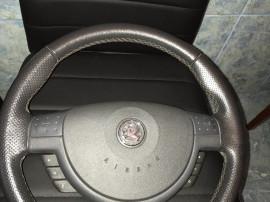Volan Piele cu Comenzi Opel Corsa C Combo + airbag an 2006