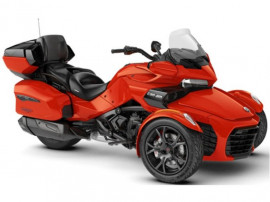 Can-Am Spyder F3, SE6, Limited, Magma Red Metallic (Dark)