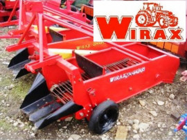 Masina de scos cartofi pe un rand Wirax