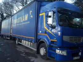 Camion renault 450dxi+remorcă