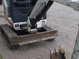 Miniexcavator Bobcat 320