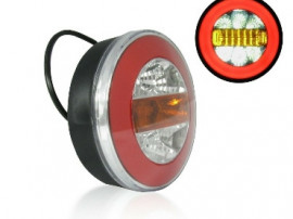 Set 2 Auto Led Lampi Stop Flexzon, 4 Functii, 28 Leduri