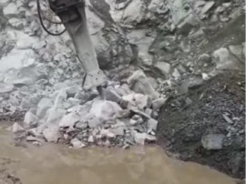 Picamer hidraulic Montabert excavator
