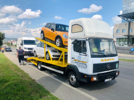 Camion transportor auto Mercedes 814 Ecopower