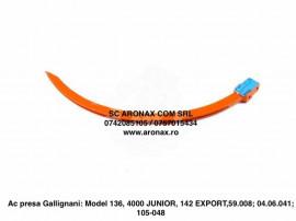 Ac presa Gallignani/ Model 136, 4000 JUNIOR, 142 EXPORT,59.0