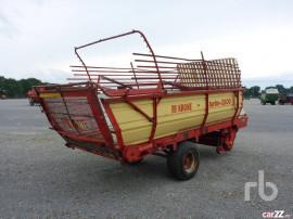 Ladenwagen, remorca de strans fan