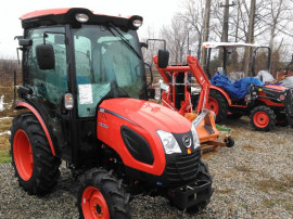 Tractor nou, 4x4, 35CP, Kioti CK3520C Cabina AC