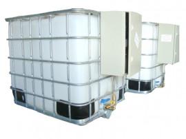 Bazin 1000 litri rezervor pompa motorina cu tva si transport
