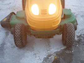 Tractoras iarba gazon 20cai 2pistoane