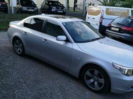 BMW seria 5 525 neinmatriculat geam fata crapat