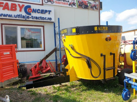 Remorca tehnologica furaj Grajd (5 m³)– Alper Makine Turc