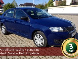Škoda RAPID 2015, 1.6 Diesel 90 CP Automată, Garanție 3 luni
