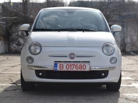 Fiat 500, 1.3 multijet lounge, 2010, panoramic,carte service