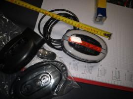 Lampa led ovala camioane autoutilitare 12 v 24 v import