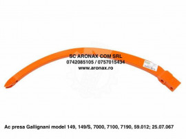 Ac presa Gallignani model 149, 149/S, 7000, 7100, 7190, 59.0