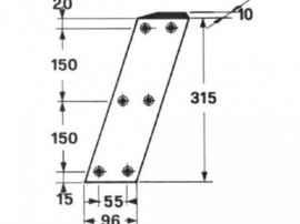 Cutit piston balotiera claas: markant 52, markant 55