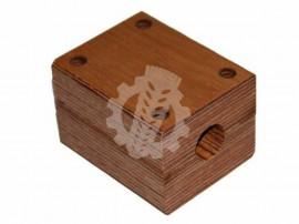 703827 Lagar lemn Fi-25mm
