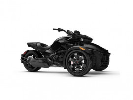 Can-Am Spyder F3 SE6 Steel Black Metallic 2018