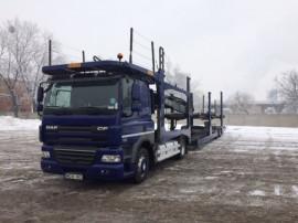 6 Transportor auto 8/9 autoturism din 2012 euro 5 + remorca