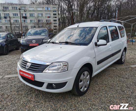 """Dacia Logan MCV 1,5 Dci - 7 Locuri - Klima - An 2010 Dacia Logan MCV 1,5 Dci - 7 Locuri - Klima - An 2010 2010 , se pot verifica accidentele și km mașinii (apăsând butonul """"Verifică""""), cutie de viteză Manuala, Euro 4. Oferit de Companie."""