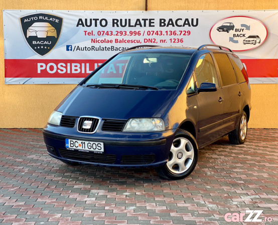 Seat Alhambra 1.9 Diesel 2002 Aer condi?ionat