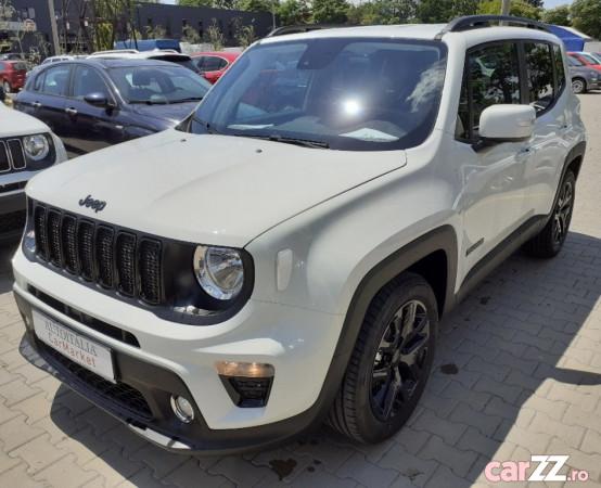 """Jeep Renegade Jeep Renegade 2021  adusă recent din România, se pot verifica accidentele și km mașinii (apăsând butonul """"Verifică""""), nerulată, cutie de viteză Manuala, Euro 6. Oferit de Companie."""